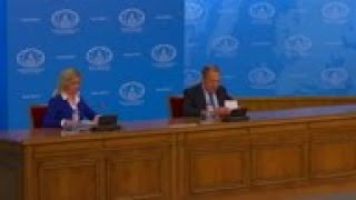 Lavrov On Missile Treaty, Iran Tension And Syria