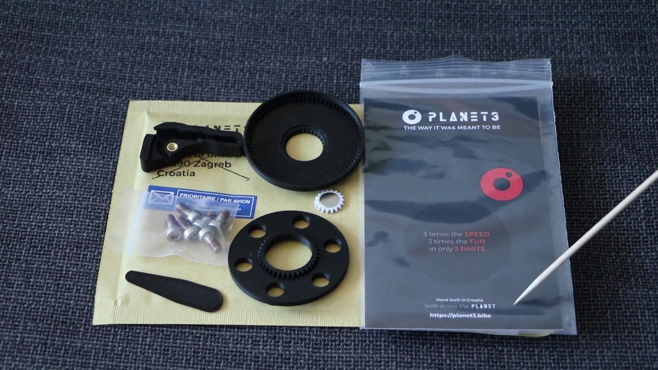 E-BIKE Planet3 Tuning Kit for Brose Specialized Turbo Kenevo Comp 2020 Gen2 EMTB