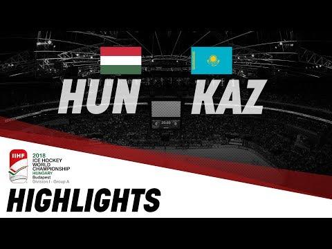 Hungary - Kazakhstan | Highlights | 2018 IIHF Ice Hockey World Championship Division I Group A