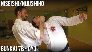Niseishi/Nijushiho Bunkai - 7b Oyo (Haito uchi, haishu age uchi, koko kuzushi, awase zuki)