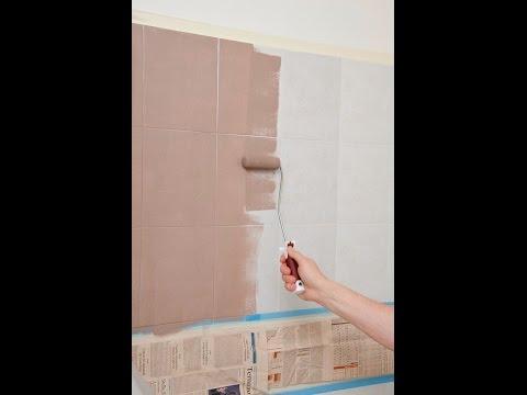 Rinnovare il bagno senza togliere le piastrelle - YouTube