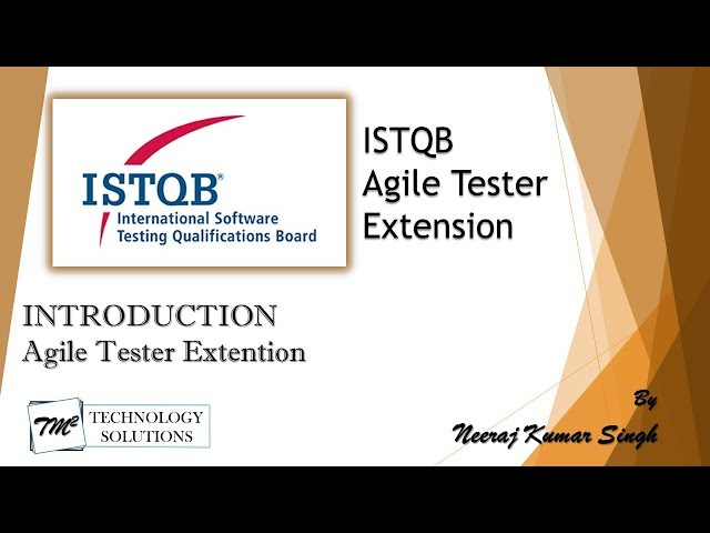 ISTQB Agile Tester Extension | Introduction
