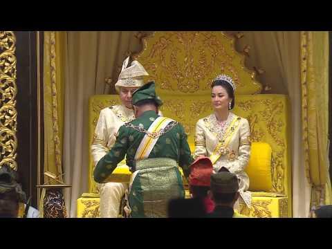 Pertabalan Sultan Perak ke-35.