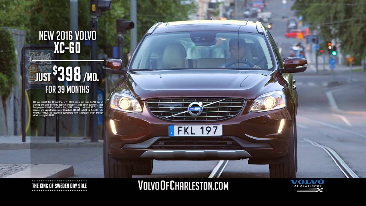 Volvo of Charleston The King of Sweden Day Sale