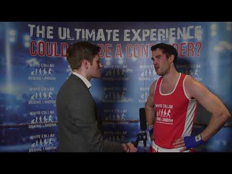 White Collar Boxing London's Patrick Collins Interview