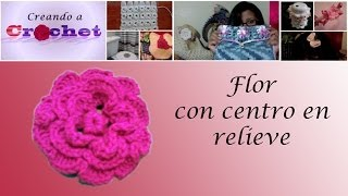 Flor con centro en relieve- Tutorial de ...