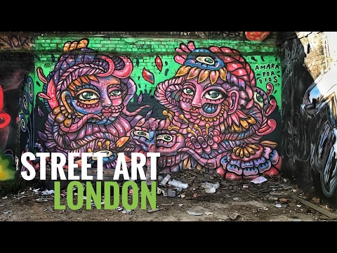 Street Art London (UK) documentary - Episode 1: Intro to Sho