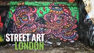 Street Art London (UK) documentary - Episode 1: Intro to Shoreditch
