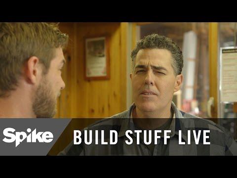 Adam Carolla Visits a Hardware Store | Build Stuff Live