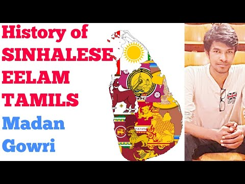 History of Tamils and Sinhalese in Sri Lanka | Madan Gowri