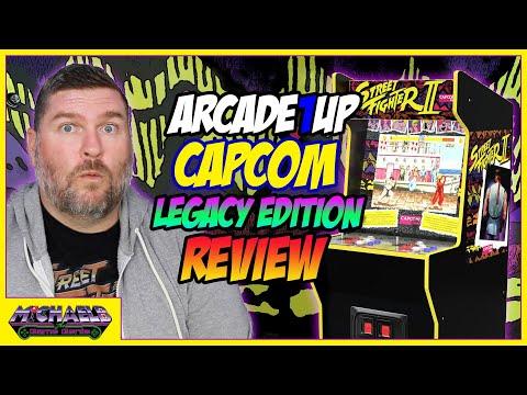 Arcade1Up Capcom Legacy Edition Review from MichaelBtheGameGenie