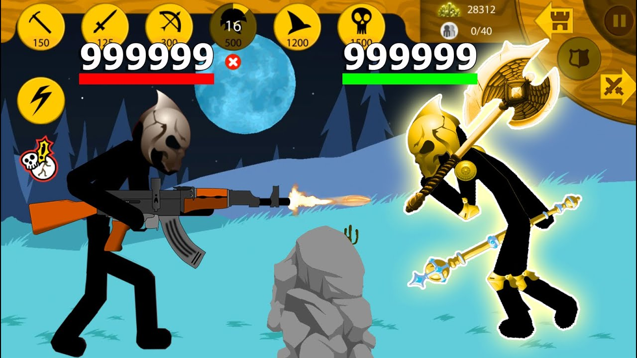 Download Stick War Legacy MOD APK - Battle of The Two Most Powerful Final Bosses