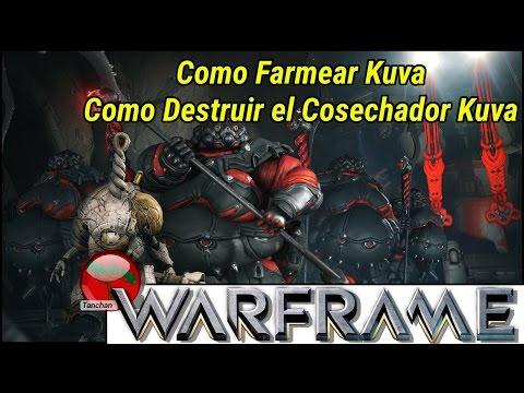 Warframe. Como conseguir el Kuva.  Como destruir el sifón de Kuva. Gameplay en español