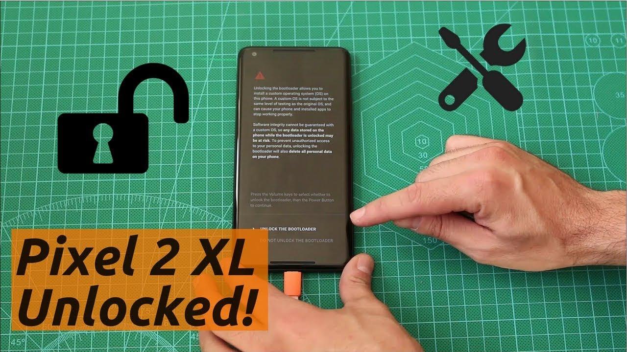 Unlocking the Google Pixel 2 XL bootloader