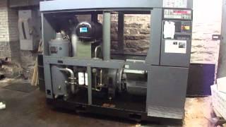 online auction atlas copco ga55w air compressor