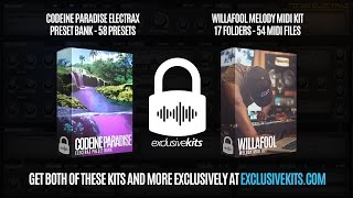 Codeine Paradise ElectraX Preset Bank x Willafool Melody Midi Kit Demo (ExclusiveKits.com)