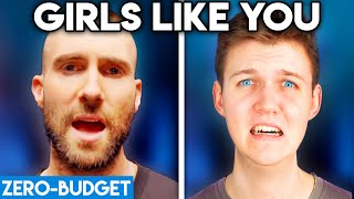 Download MAROON 5 WITH ZERO BUDGET! (Girls Like You PARODY) Mp3 and Videos