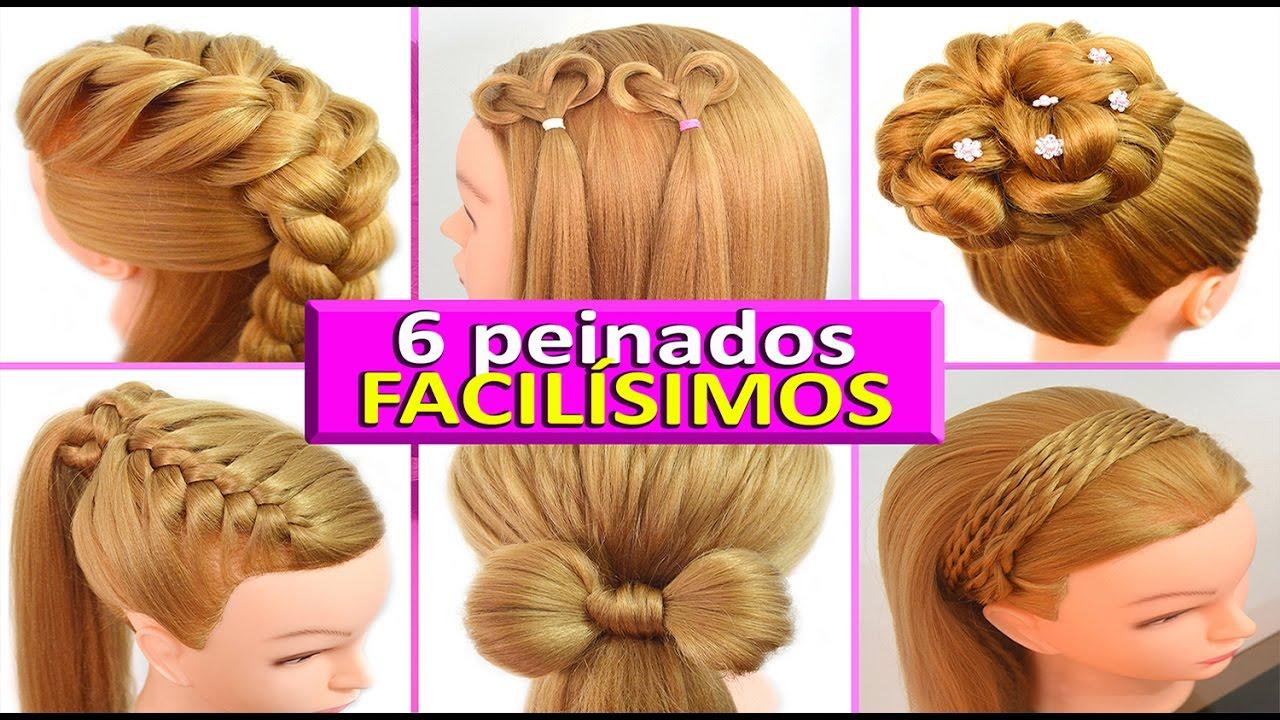6 Peinados Casuales Para Cabello Largo Trenzas Faciles Y Rapidos