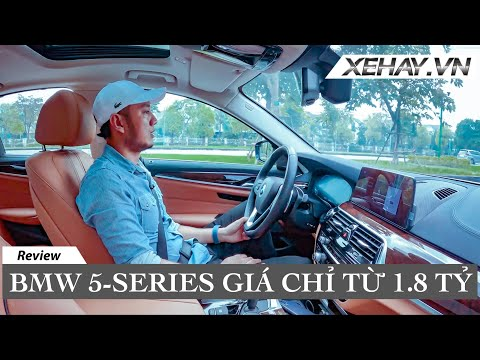 BMW 5 Series giá chỉ từ 1,8 tỷ tại Việt Nam | XE HAY