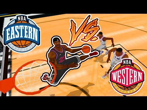 EASTERN CONFERENCE vs WESTERN CONFERENCE All-Star Game