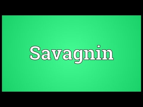 Savagnin Meaning