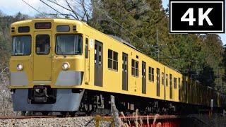 【運用離脱直前から廃車回送までの記録】西武2000系2021F 引退