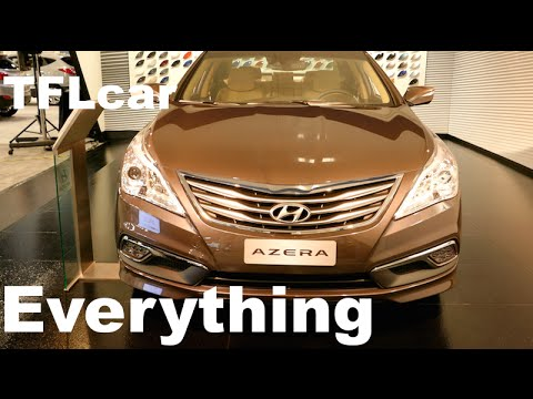 2015 Hyundai Azera Almost Everything You Ever Wanted to Know in TFL4K