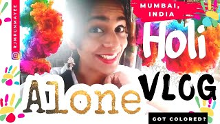holi 2017   it was blood   rain dance party south bombay   mumbai india vlog
