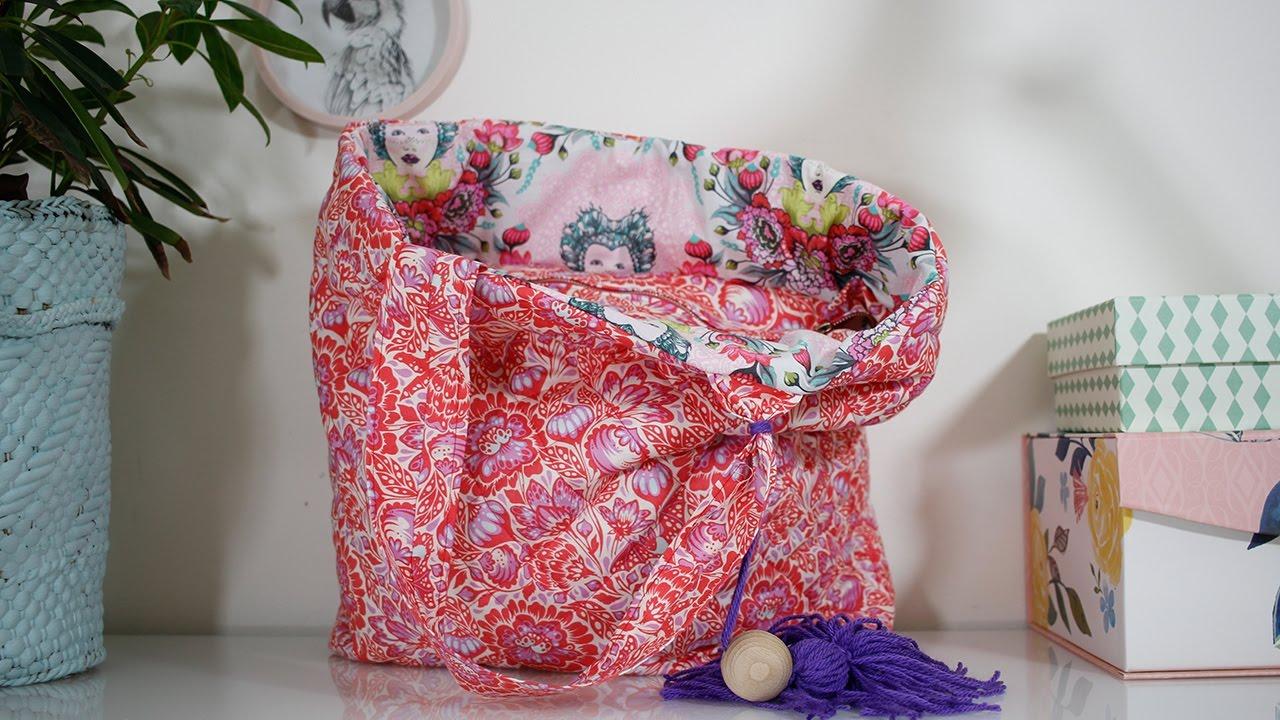 2393c4c79dc50 Jak uszyć pikowaną torbę oulala.pl - YouTube