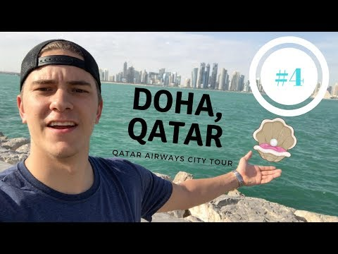 Qatar Airways City Tour of Doha - BEAUTIFUL CITY!