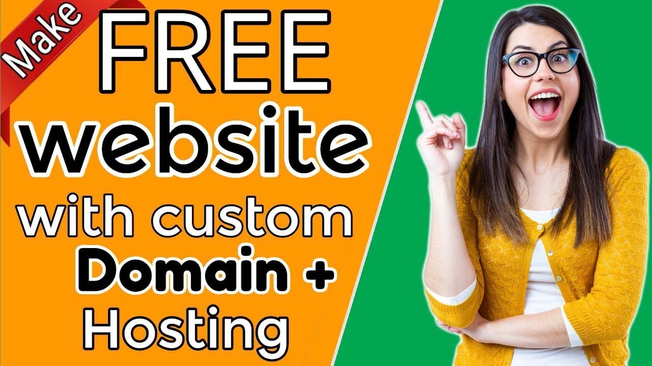 How to build a website with own Domain + Hosting 100% FREE |Website building tutorial| [#3]