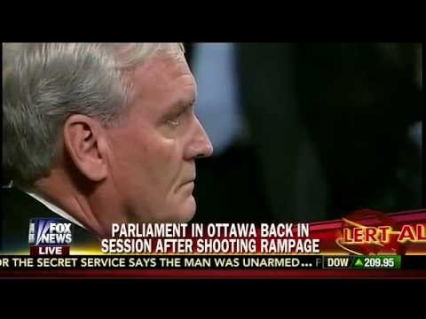 Sgt-at-Arms Who Took Down Ottawa Shooter Gets Standing Ovation at Canadian Parliament