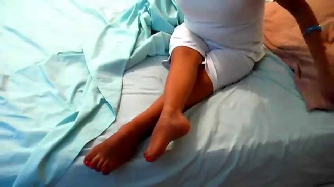 One leg amputee girl sex - 1 part 2