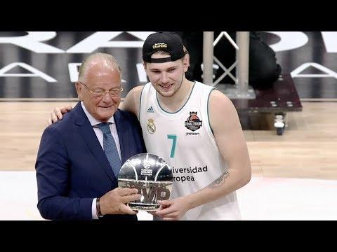 Doncic chosen Final Four MVP