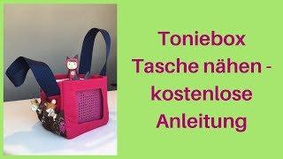 Toniebox Tasche nähen - kostenlose Anleitung | Doovi