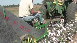 Mule Drawn Cotton Picker