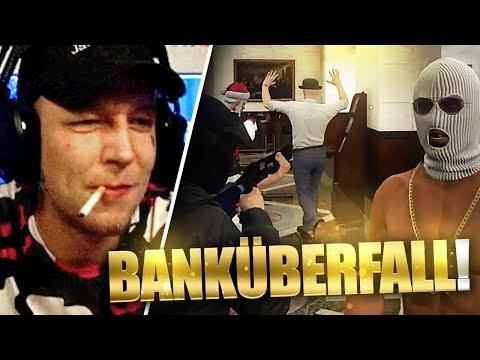 GEISELNAHME in der BANK! | GTA RolePlay Teil 8 | SpontanaBlack