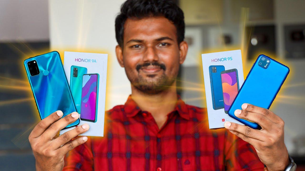 பட்ஜெட்டில் 2 Honor மொபைல்!🤳🏿 | Honor 9A & Honor 9S Unboxing & First impression in Tamil |TechBoss