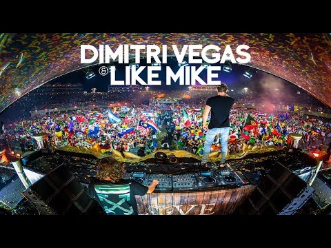Best Moments of Tomorrowland - Dimitri Vegas & Like Mike (Part 2)
