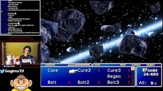Blind FF7 Super Nova reaction