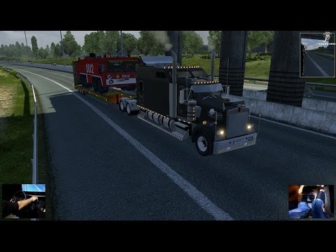 Delivery (Kenworth Long) (Oversize Heavy Load) - Euro Truck Simulator 2