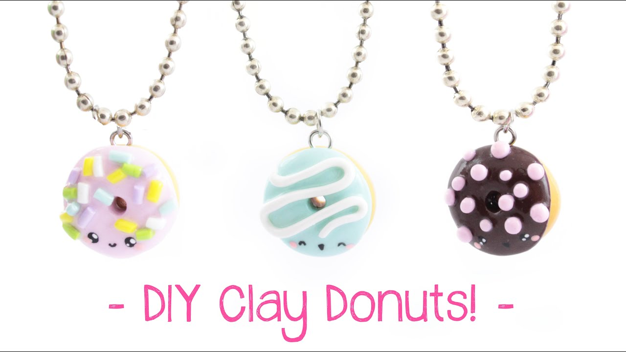 Friendship Donut Charms-Best Friend Gift-Donut Charms-Choose Your Style-Summer Charms-Kawaii Donut Charms-Polymer Clay Charms-Party Favors!!