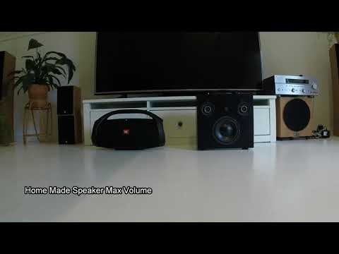 JBL Boombox VS DIY Home Made Portable Bluetooth Speaker Wear Headphones!