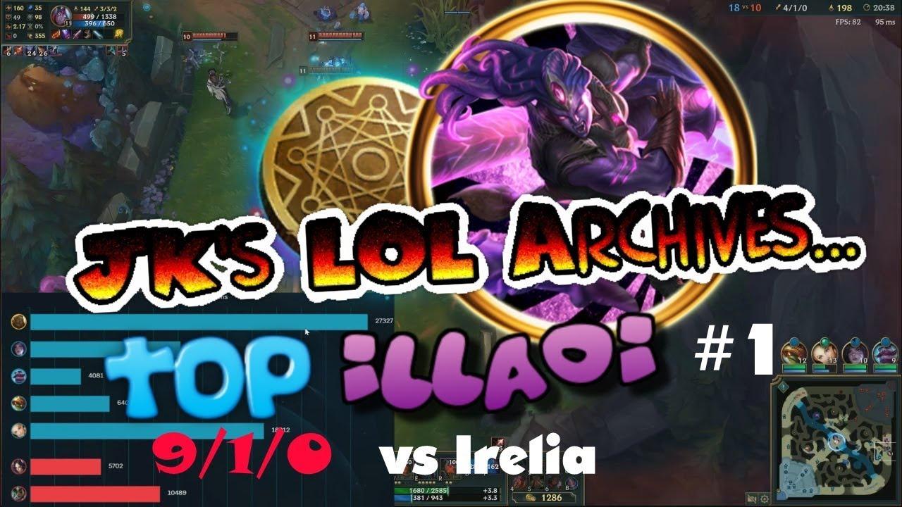 "[LOL] illaoi vs Irelia #1 - Irelia counter ""illaoi"" - YouTube  [LOL] illaoi vs..."