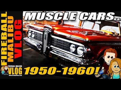Muscle Cars Of The 1950 S Fmv293 Youtube