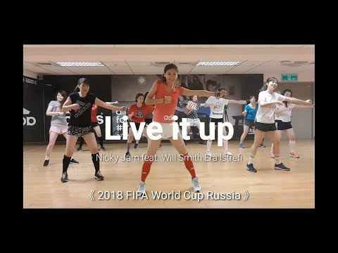 Live it up / Pop Song / Dance Party / Choreography by TienTien / 2018 FIFA World Cup