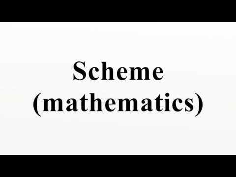Scheme (mathematics)