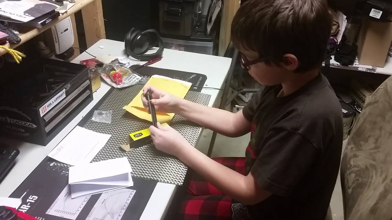 My son's first knife thanks to knivesshipfree.com