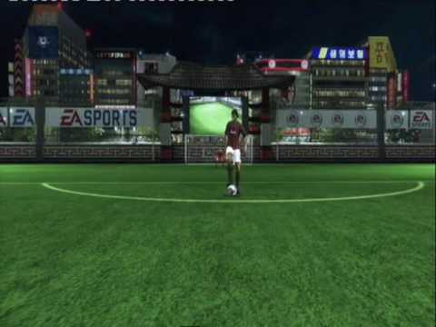 Fifa 09 Arena - Juggling Skills - Overhead/Bicycle Kick