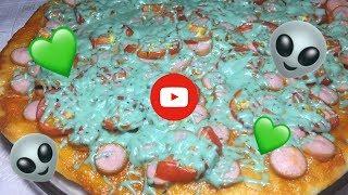 Зелёная Супер Пицца 🍕 💚